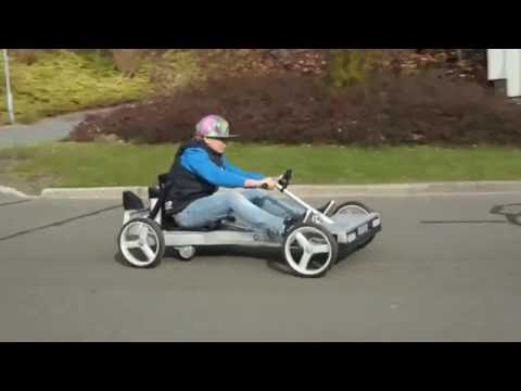 HOMEMADE WOODEN GO KART