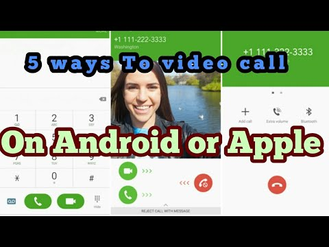 5 BEST APPS to Video call with on Android or Apple phones