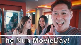 The Nun on Movie Day - HHN8 Updates - Matching Pants!!