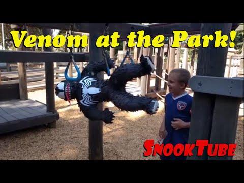 Venom at the park!