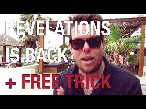 REVELATIONS | s2e01 Origin / Revolvers + FREE Trick