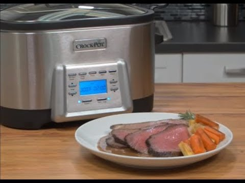 5-in-1 Multi-Cooker Roast Beef | Crock-Pot®