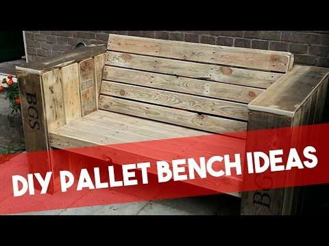 diy pallet bench Ideas