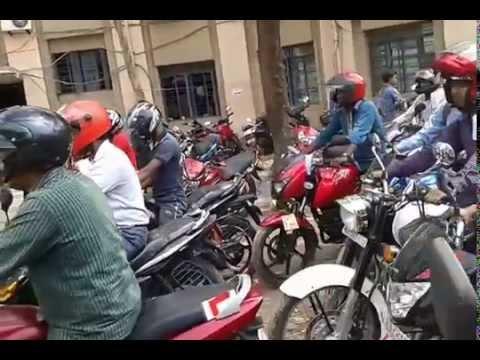 Final Driving Test for Permanent Driving License at Barrackpore, Kolkata