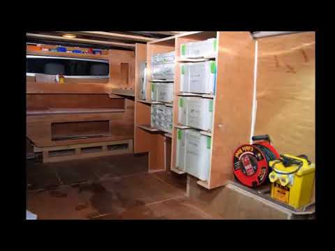 Van Shelving - Van Shelving Mounting Hardware | Small Space Organizing Best Idea Collection