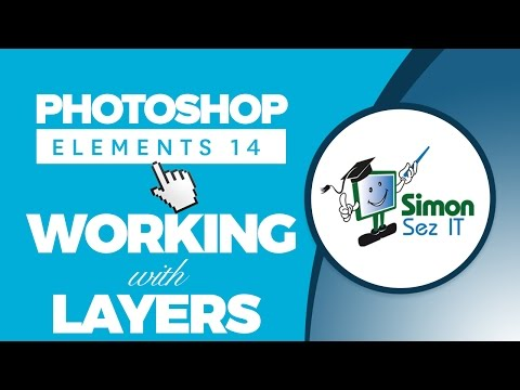 How to Work with Layers in Adobe Photoshop Elements 14
