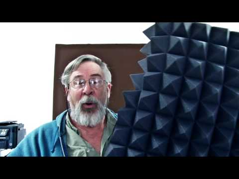 Pyramid foam and your sound room.