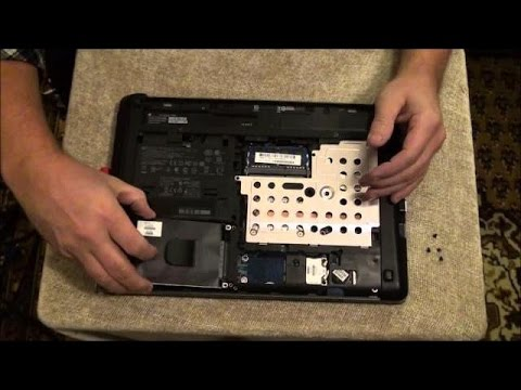 DIY - Removing & Replacing a Hard Drive in an HP Probook 4440s
