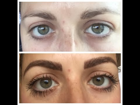 My Microblading Experience l 10 Days of Healing l Healing After Touch Up