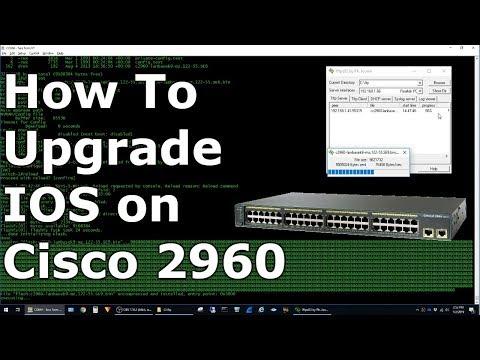 How to upgrade cisco router ios -