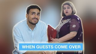 When Guests Come Over ⎜Super Sindhi