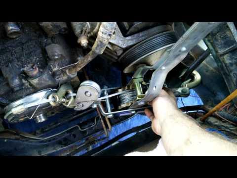 Removing a clutch fan on a 97 Dodge Dakota
