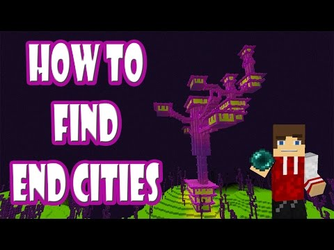 How to find End Cities in Minecraft