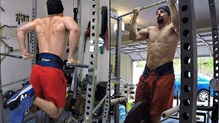 Vlog #36: 175lbs Strict Press Singles & 165lbs for Triples