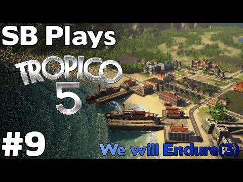 Back to Cayo de Fortuna (Mission 3, Part 1) - SB Plays Tropico 5 ep9
