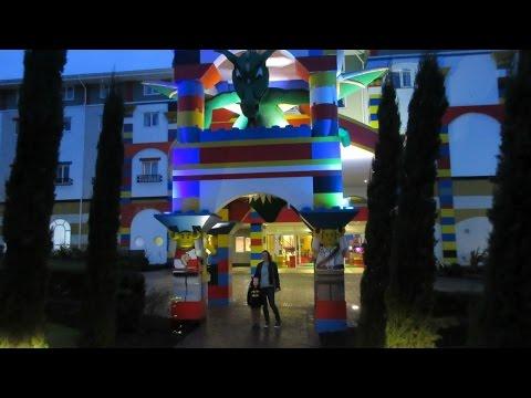 Legoland Resort Windsor UK Kingdom room and inside the hotel