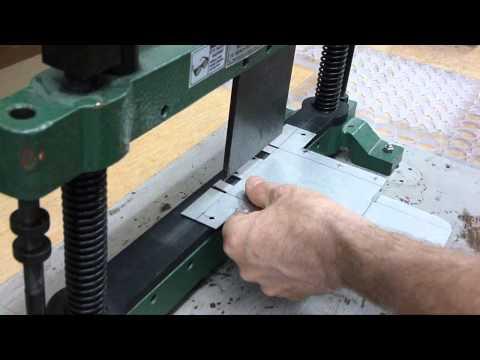 Bench Top Sheet Metal Bender