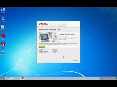 Pettittos - Installing McAfee Antivirus