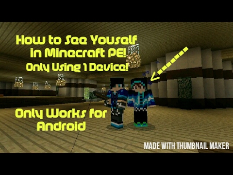 How to Clone Yourself in MCPE!