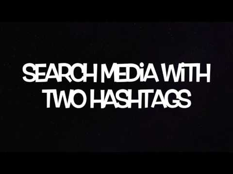 Search with Instagram and Two hashtags