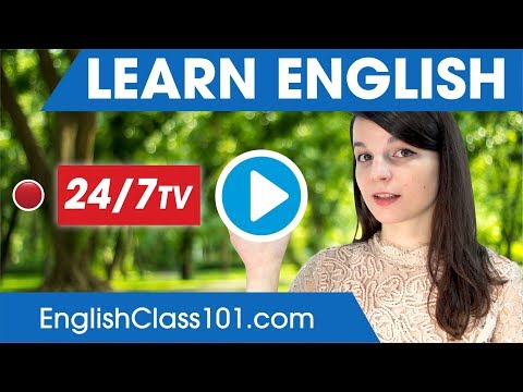 Learn English 24/7 with EnglishClass101 TV