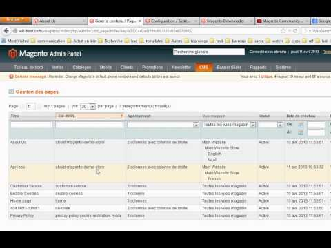 Magento - Make about us page with multiple languages