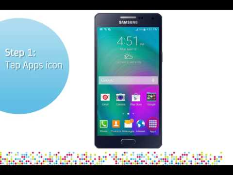 Samsung Galaxy A5 or A3 or A7: Turn on/off data roaming services