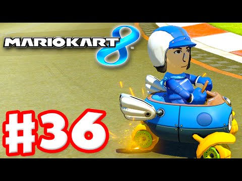 Mario Kart 8 - Gameplay Part 36 - Online Multiplayer! First Time! (Nintendo Wii U Walkthrough)