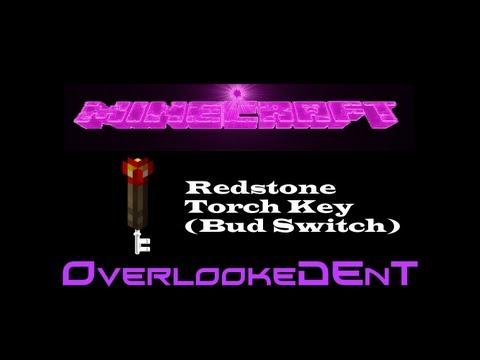 Redstone Torch Key (BUD Switch) - Minecraft Xbox 360/PS3 - [Tutorial]