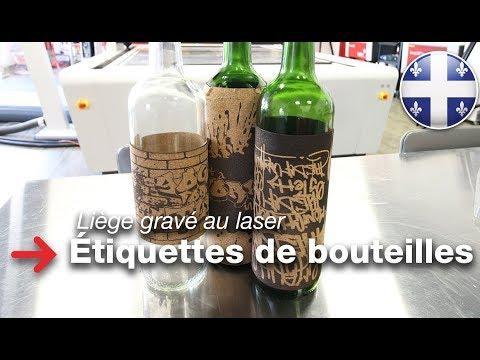 Enveloppes de bouteilles de liège | étiquettes de bouteilles de vin | liège gravé au laser