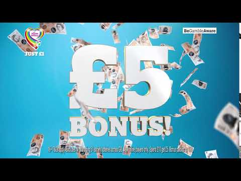 Health Lottery Welcome Bonus