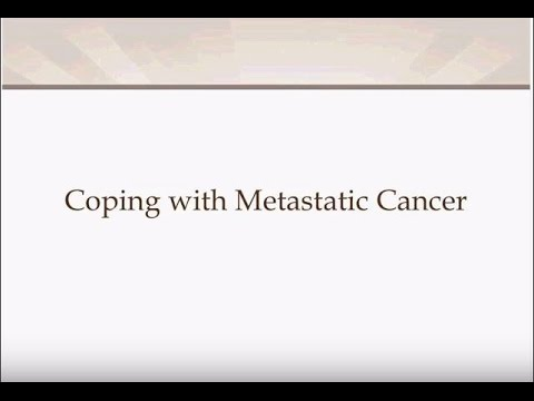 Coping with Metastatic Cancer - Final
