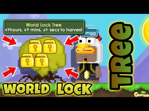 Growtopia | WORLD LOCK TREE