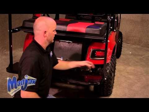 Light Kit will fit *E-Z-Go® *TXT® | How to Install Video | Madjax® Golf Cart Accessories