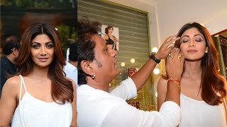 Shilpa Shetty Inaugurates Her Make Up Artist Ajay Shelar