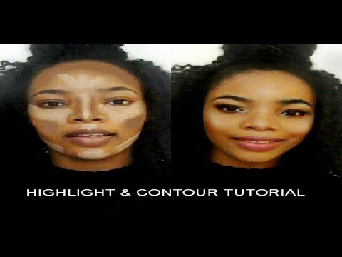 How To  Highlight & Contour For Beginners | Easy Makeup Tutorial For Beginners