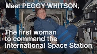 NASA Astronaut Peggy Whitson!