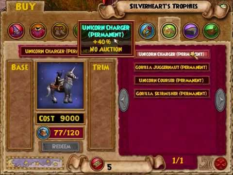 New Mounts for Arena Tickets + Other Changes in Test (Wizard101)