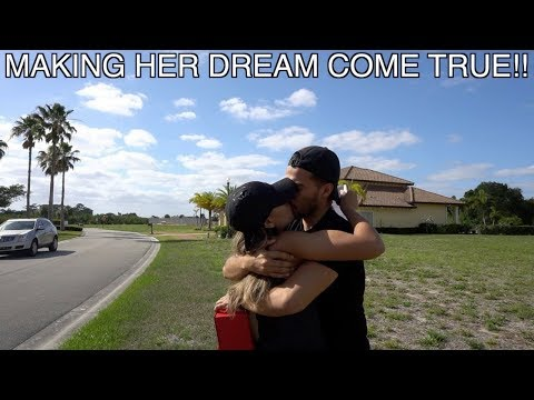 Gifting My Wife Her Dream Home!