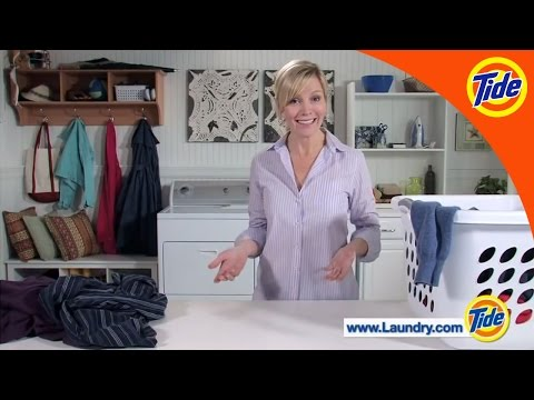 Tide | How To Load A Top Loading Washing Machine