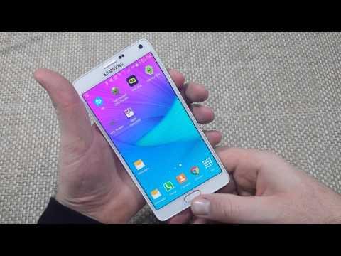 Samsung Galaxy Note 4 How to Take or Capture a Screen Shot Screenshot