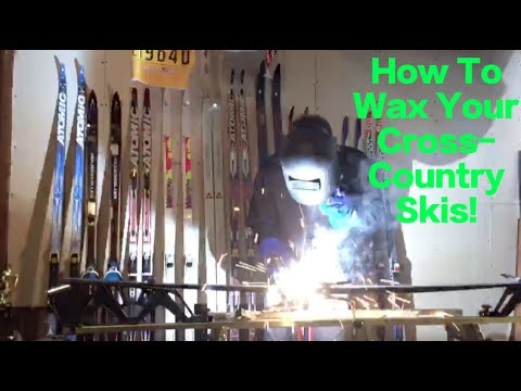 SIMPLE - How To Wax Your Cross-Country Skis!