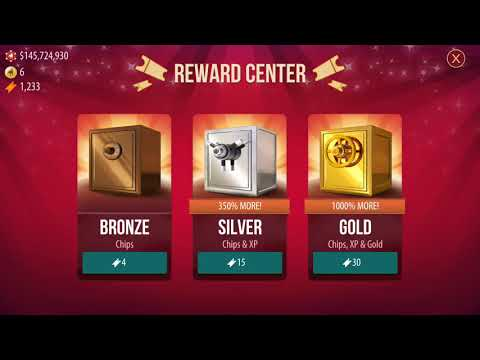 ZYNGA POKER REDEEM 1236 AND GET 275 million chips & 100+ gold