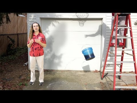 Dropping a Bucket of Water - Demonstration