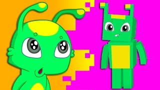 Groovy The Martian & Phoebe -  Parents give them a minecraft video game for good marks at school