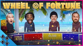 TYLER BREEZE vs. MIKE KANELLIS vs. BARON CORBIN & AUSTIN CREED - WHEEL OF FORTUNE - GAMER GAUNTLET