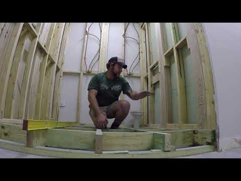 Internal joist system  -  How to ensure no humps or bumps
