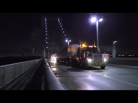 NYC Subway HD 60fps: R179 3058-3061 Delivery @ George Washington Bridge & 207th St Yard [April 2017]