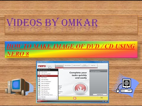 How To Make Copy Of Windows XP  DVD IN NERO 8 (HINDI)