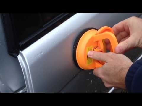 Harbor Freight Dent Puller Suction Cup Review Part 2